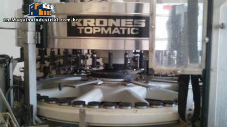 Labeler for glass bottles Topmatic Krones