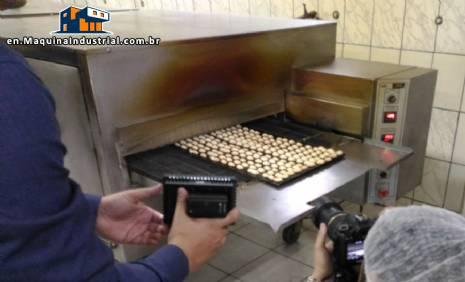 Continuous belt oven JJAC