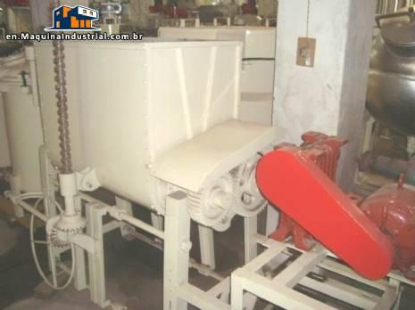 Industrial mixer sigma 150 litres