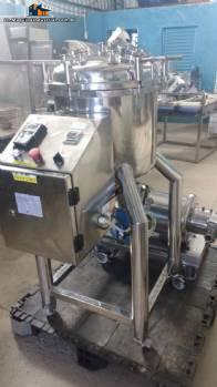 Pressure reactor for manufacturing of hormones Meteor